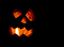 De pompoendecoratie van Halloween Royalty-vrije Stock Foto's