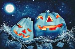 De pompoenen van Halloween Royalty-vrije Stock Foto