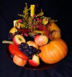 De pompoensamenstelling van de herfst Royalty-vrije Stock Foto