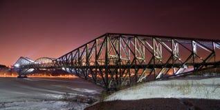 de pont quebec Arkivbilder