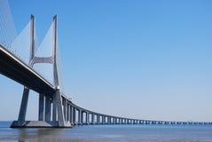 De ?ponte do Gama Vasco a Dinamarca? em Lisboa Fotos de Stock