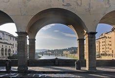 De Ponte Vecchio Fotos de Stock Royalty Free