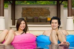 In de Pool royalty-vrije stock fotografie