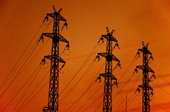 De pool van de elektriciteit Stock Afbeeldingen