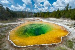 De Pool van de Glorie van de ochtend, Yellowstone stock foto's