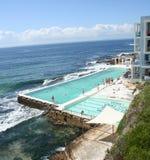 De Pool van de Ijsbergen van Sydney Bondi   Stock Foto