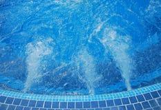 De pool van de Jacuzzi Stock Afbeeldingen