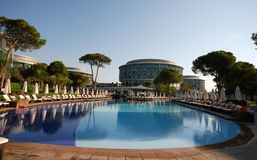 De pool van de luxe stock afbeelding
