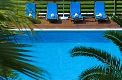 De Pool van de luxe royalty-vrije stock afbeelding