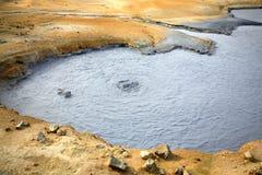 De pool van de modder Royalty-vrije Stock Afbeeldingen