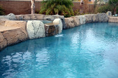 De pool van de rots Stock Foto
