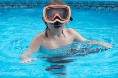 De pool van de zomer Royalty-vrije Stock Fotografie
