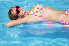 De Pool van de zomer Royalty-vrije Stock Afbeelding