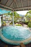 De pool van het dak Royalty-vrije Stock Foto