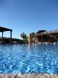De pool van het hotel Royalty-vrije Stock Afbeelding