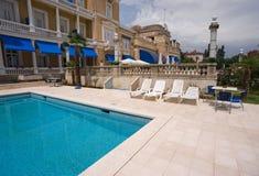 De pool van het hotel   Royalty-vrije Stock Fotografie
