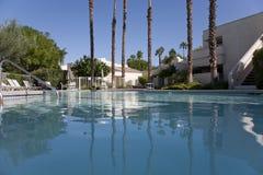 De Pool van het Palm Springs royalty-vrije stock foto's