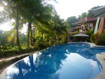 De pool van het paradijs Royalty-vrije Stock Afbeeldingen