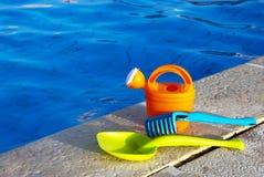 De pool van het speelgoed royalty-vrije stock foto