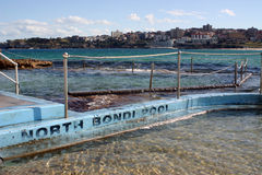 De Pool van het Strand van Bondi Stock Fotografie