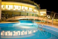 De pool van hotels Royalty-vrije Stock Foto's