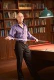 De poolspeler van het biljart Royalty-vrije Stock Fotografie