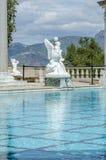 De poolstandbeeld van Neptunus Royalty-vrije Stock Fotografie