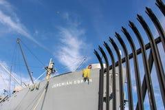 De poort aan de boot Royalty-vrije Stock Foto's