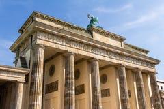 De Poort Berlijn van Brandenburg Stock Foto's