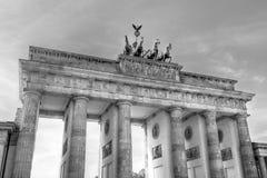 De Poort Berlijn van Brandenburg Royalty-vrije Stock Afbeeldingen