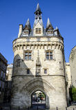 De Poort Bordeaux, Frankrijk van Portecailhau Royalty-vrije Stock Afbeeldingen