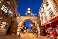 De Poort Chester het UK van het oosten royalty-vrije stock fotografie