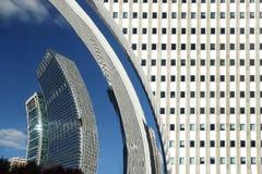 DE POORT CHICAGO VAN DE WOLK Stock Afbeeldingen