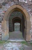 De poort in de muur Stock Foto