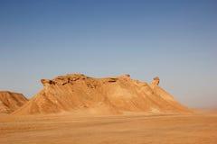 De poort in de Sahara Royalty-vrije Stock Afbeeldingen