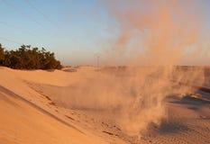 De poort in de Sahara Stock Foto's