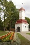 De poort-klok van Kalamaja toren Stock Foto's