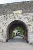 De Poortvan Zhonghua van Nanjing Ming City Wall Royalty-vrije Stock Afbeelding