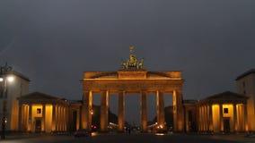De Poort van Berlijn, Brandenburg stock video