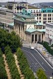 De Poort van Brandenburg stock fotografie