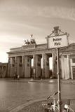 De Poort van Brandenburg Stock Afbeeldingen