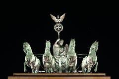 De poort van Brandenburg royalty-vrije stock afbeelding