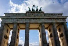 De Poort van Brandenburg Stock Foto