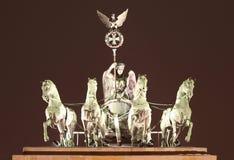 De Poort van Brandenburg, Berlijn royalty-vrije stock fotografie