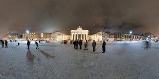 De Poort van Brandenburg, Berlijn. Royalty-vrije Stock Afbeeldingen
