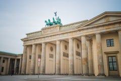 De poort van Brandenburg, Berlijn Stock Afbeelding