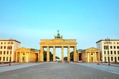 De Poort van Brandenburg in Berlijn, Duitsland royalty-vrije stock afbeelding