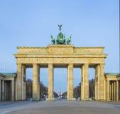De Poort van Brandenburg van Berlijn, Duitsland Stock Foto