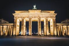 De Poort van Brandenburg zonder mensen royalty-vrije stock fotografie