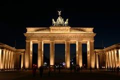 De poort van Brandenburger Stock Fotografie
